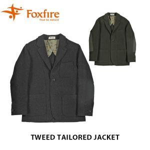 フォックスファイヤー Foxfire メンズ ジャケット アウター ツィードテーラードジャケット Tweed Tailored Jacket ブレザー カジュアル FOX6113808|hikyrm