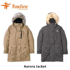 フォックスファイヤー Foxfire レディース オーロラジャケット アウター ダウン ゴアテックス GORE-TEX 防水 S M L 山ガール 女性用 FOX8113762|hikyrm