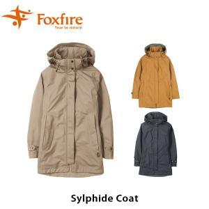 フォックスファイヤー Foxfire レディース シルフィードコート ジャケット アウター ゴアテックス GORE-TEX 防水 冬物 防寒 山ガール 女性用 FOX8113764|hikyrm