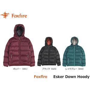 フォックスファイヤー Foxfire レディース エスカーダウンフーディ ダウンジャケット ダウン 羽毛 防寒 アウトドアウェア 登山 冬物 FOX8113801 国内正規品|hikyrm