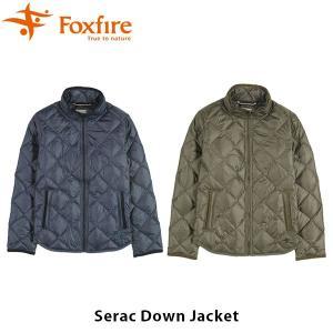 フォックスファイヤー Foxfire レディース セラックダウンジャケット アウター ダウン 羽毛 ハイキング 登山 山ガール トレッキング FOX8113802 国内正規品|hikyrm