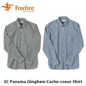 フォックスファイヤー Foxfire レディース SCパナマギンガムカシュクール SC Panama Gingham Cache-coeur Shirt 8212817 FOX8212817|hikyrm