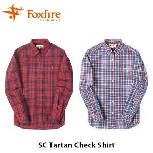 フォックスファイヤー Foxfire レディース SCタータンチェックシャツ シャツ チェック柄 長袖 ベーシック スコーロン 虫対策 虫よけ UV 紫外線 FOX8212927|hikyrm