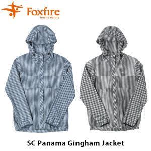 フォックスファイヤー Foxfire レディース SCパナマギンガムジャケット SC Panama Gingham Jacket 8213889 FOX8213889|hikyrm