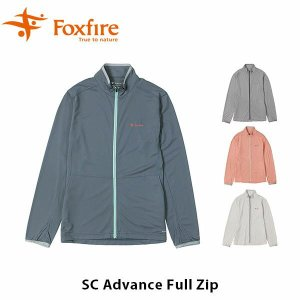 フォックスファイヤー Foxfire レディース SCアドバンスフルジップ シャツ 長袖 立ち襟 サムホール 吸汗 速乾 スコーロン 虫対策 虫よけ UV 紫外線 FOX8215928|hikyrm