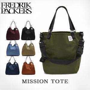 フレドリックパッカーズ FREDRIK PACKERS ショルダーバッグ MISSION TOTE M ミッショントート Mサイズ B4 18L 通勤 通学 メンズ レディース FRE004|hikyrm