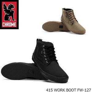 クローム CHROME メンズ 415 WORK BOOT 415 ワークブーツ フォーワンファイブ 靴 FW127 FW127 国内正規品 hikyrm