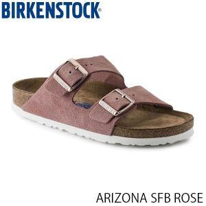 ビルケンシュトック メンズ レディース サンダル アリゾナ ARIZONA SFB ROSE スエード 幅狭 BIRKENSTOCK GC1003731 国内正規品|hikyrm