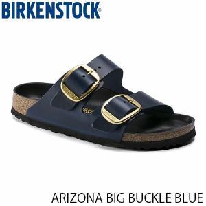 ビルケンシュトック メンズ レディース サンダル アリゾナ ビッグバックル BLUE オイルドレザー 幅狭 BIRKENSTOCK GC1014247 国内正規品|hikyrm
