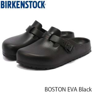 ビルケンシュトック サンダル レディース ボストン BOSTON EVA エヴァ エバ サボ クロッグサンダル 幅狭 ブラック 黒 BIRKENSTOCK GE127103 国内正規品|hikyrm