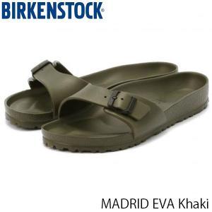ビルケンシュトック サンダル メンズ マドリッド MADRID EVA エヴァ エバ シャワーサンダル ビーチサンダル 幅広 カーキ BIRKENSTOCK GE128251 国内正規品|hikyrm