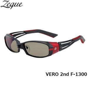 ジールオプティクス ZEAL OPTICS 偏光サングラス VERO 2nd ヴェロセカンド F-1300 マットブラック×レッド トゥルービュースポーツ GLE4580274162995 hikyrm