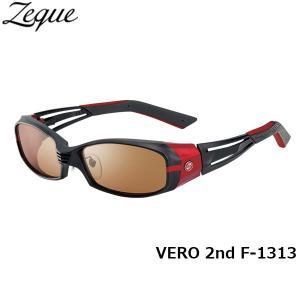 ジールオプティクス ZEAL OPTICS 偏光サングラス VERO 2nd ヴェロセカンド F-1313 マットブラック×レッド ラスターオレンジ×シルバーミラー GLE4580274164142 hikyrm