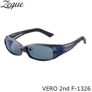 ジールオプティクス 偏光サングラス F-1326 VERO 2nd GUNMETAL×NAVY MASTER BLUE フィッシング 偏光グラス 偏光レンズ ZEAL OPTICS GLE4580274166566|hikyrm