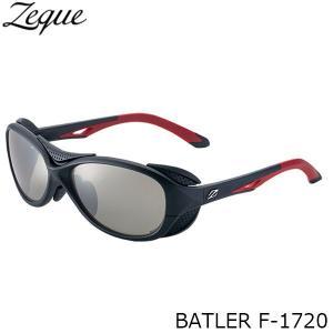 ジールオプティクス 偏光サングラス F-1720 BATLER BLACK×RED TRUEVIEW SPORTS×SILVER MIRROR 偏光グラス 偏光レンズ ZEAL OPTICS GLE4580274166603 hikyrm