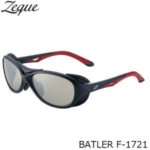 ジールオプティクス 偏光サングラス F-1721 BATLER BLACK×RED LITE SPORTS フィッシング 偏光グラス 偏光レンズ ZEAL OPTICS GLE4580274166610|hikyrm