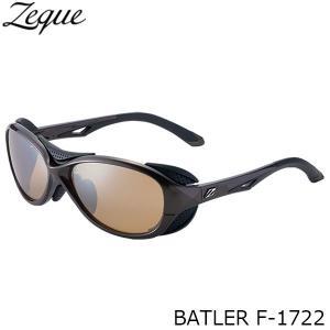 ジールオプティクス 偏光サングラス F-1722 BATLER BROWN×BLACK LUSTER ORANGE×SILVER MIRROR 偏光グラス 偏光レンズ ZEAL OPTICS GLE4580274166627 hikyrm