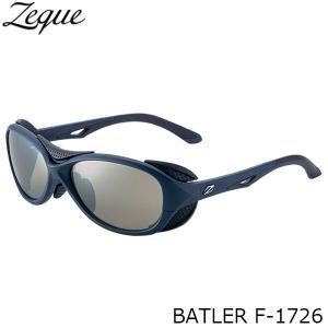 ジールオプティクス 偏光サングラス F-1726 BATLER NAVY×BLACK TRUEVIEW SPORTS×SILVER MIRROR 偏光グラス 偏光レンズ ZEAL OPTICS GLE4580274166665|hikyrm