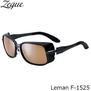 ジールオプティクス 偏光サングラス F-1525 Leman GUNMETAL×BLACK LUSTER ORANGE×SILVER MIRROR 偏光グラス 偏光レンズ ZEAL OPTICS GLE4580274166948 hikyrm
