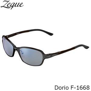 ジールオプティクス 偏光サングラス F-1668 Dorio BLACK×GRAY TRUEVIEW SPORTS×BLUE MIRROR 偏光グラス 偏光レンズ ZEAL OPTICS GLE4580274166962|hikyrm