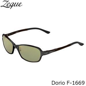 ジールオプティクス 偏光サングラス F-1669 Dorio BLACK×GRAY EASE GREEN フィッシング 偏光グラス 偏光レンズ ZEAL OPTICS GLE4580274166979|hikyrm