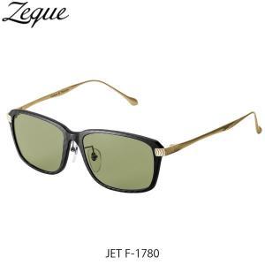 ジールオプティクス 偏光サングラス ジェット JET F-1784 ブラック×ゴールド イースグリーン 釣り フィッシング ZEAL OPTICS GLE4580274167532|hikyrm