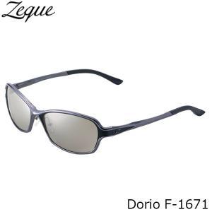 ジールオプティクス 偏光サングラス F-1671 Dorio GUNMETAL×BLACK TRUEVIEW SPORTS×SILVER MIRROR 偏光グラス 偏光レンズ ZEAL OPTICS GLE4580274167709 hikyrm