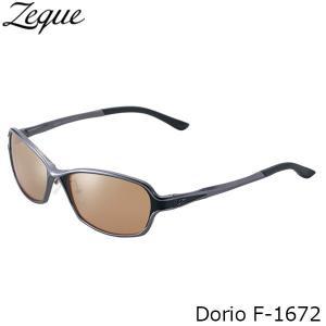 ジールオプティクス 偏光サングラス F-1672 Dorio GUNMETAL×BLACK LUSTER ORANGE×SILVER MIRROR 偏光グラス 偏光レンズ ZEAL OPTICS GLE4580274167716 hikyrm