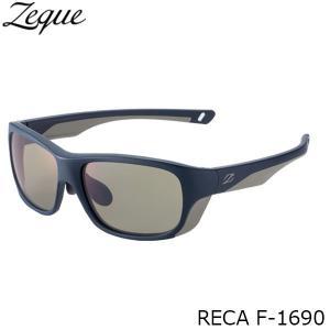 ジールオプティクス 偏光サングラス F-1690 RECA NAVY×GRAY TRUEVIEW SPORTS フィッシング 偏光グラス 偏光レンズ ZEAL OPTICS GLE4580274167747 hikyrm