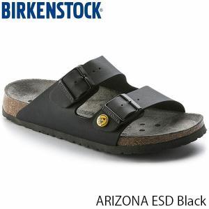 ビルケンシュトック サンダル レディース アリゾナ ESD ARIZONA ESD ベルト カジュアル サマーサンダル 幅狭 ブラック 黒 BIRKENSTOCK GP089428 国内正規品|hikyrm