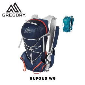 グレゴリー GREGORY リュック バックパック ルーファスW6 RUFOUS W6 6L レディース トレランパック トレイルパック ハイドレーション対応 gre85524 国内正規品|hikyrm