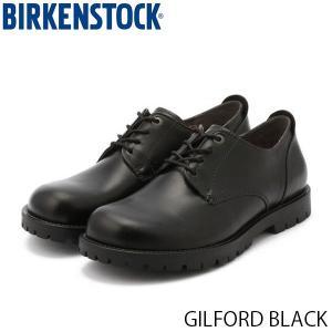 ビルケンシュトック メンズ シューズ ギルフォード GILFORD BLACK ナチュラルレザー 幅広 BIRKENSTOCK GS1006264 国内正規品|hikyrm