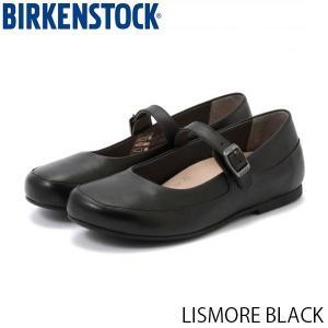 ビルケンシュトック レディース シューズ リズモア LISMORE BLACK ナチュラルレザー 幅狭 BIRKENSTOCK GS1006337 国内正規品|hikyrm