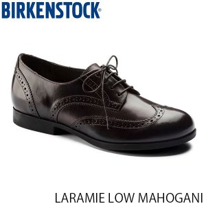 ビルケンシュトック レディース シューズ ララミー LARAMIE LOW MAHOGANI ナチュラルレザー 幅狭 BIRKENSTOCK GS1006912 国内正規品|hikyrm