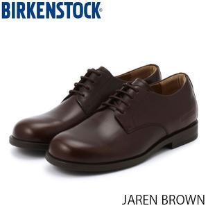 ビルケンシュトック メンズ シューズ ジャレン JAREN BROWN ナチュラルレザー 幅広 BIRKENSTOCK GS1013209 国内正規品|hikyrm