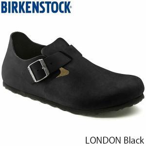 ビルケンシュトック シューズ レディース メンズ ロンドン LONDON クロッグ サンダル カジュアル おしゃれ 幅狭 ブラック BIRKENSTOCK GS166543 国内正規品 hikyrm
