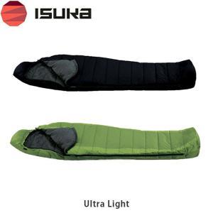 ISUKA イスカ 寝袋 ベーシックモデル ULTRA LIGHT ウルトラライト 1052 グリーン ISU1052...