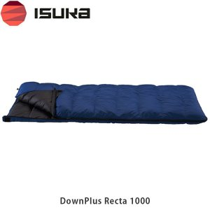 ISUKA イスカ シュラフ 寝袋 封筒型 ダウンプラス レクタ 1000 DownPlus Recta 1000 1473 ISU1473 国内正規品|hikyrm