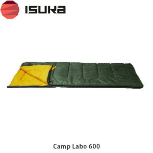 ISUKA イスカ シュラフ 寝袋 封筒型 キャンプラボ 600 Camp Labo 600 1661 ISU1661 国内正規品|hikyrm