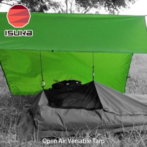 ISUKA イスカ マルチタープ オープンエア・マルチタープ Open Air Versatile Tarp 2095 ISU2095 国内正規品 hikyrm