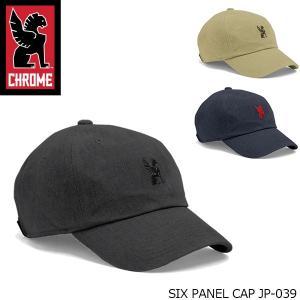 クローム CHROME 帽子 SIX PANEL CAP シックス パネル キャップ JAPAN LIMITED 日本限定デザイン JP039 JP039 国内正規品 hikyrm