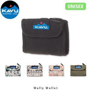 カブー KAVU ワリーウォレット コインケース 小銭入れ 財布 二つ折り アウトドア キャンプ フェス トラベル 旅行 Wally Wallet 11863203 KAV11863203 国内正規品|hikyrm