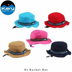 カブー KAVU キッズ ストラップバケットハット キャップ ハット 帽子 子供用 11864401 KAV11864401 国内正規品|hikyrm