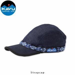 カブー 帽子 KAVU ストラップキャップ デニム 19810114 KAV19810114 国内正規品 hikyrm