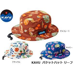 カブー 帽子 KAVU バケットハット リーフ 19820430 KAV19820430 国内正規品 hikyrm