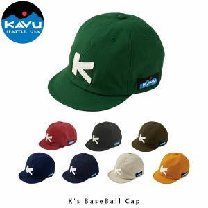 KAVU カブー 帽子 キッズ ベースボールキャップ Kids BaseBall Cap 子供 レトロ クラシック ショートバイザー アウトドア カジュアル KAV19821043 国内正規品|hikyrm