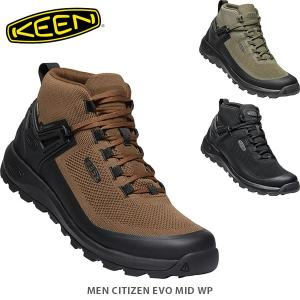 KEEN キーン メンズ スニーカー シティズンエヴォミッドウォータープルーフ CITIZEN EVO MID WP MEN KEE0037 国内正規品|hikyrm