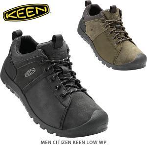 KEEN キーン メンズ スニーカー シティズンキーンローウォータープルーフ CITIZEN KEEN LOW WP MEN KEE0040 国内正規品|hikyrm