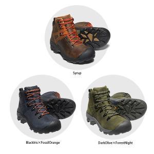 KEEN キーン メンズ ハイキングシューズ ピレニーズ PYRENEES MEN トレッキング 登山靴 オールレザー スニーカー KEE0055 国内正規品|hikyrm|04