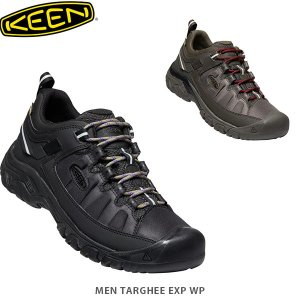 KEEN キーン メンズ トレッキングシューズ ターギー EXP ウォータープルーフ 登山靴 ハイキングシューズ TARGHEE EXP WP MEN KEE0059 国内正規品|hikyrm